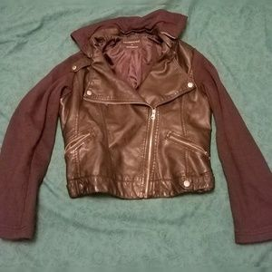 Aeropostale leather jaket